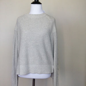 L.A. Hearts Oat Sweater small NWT